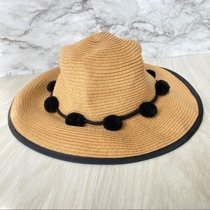 Express tank/black sun hat